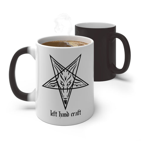 Baphomet LHC Color Changing Mug - lefthandcraft