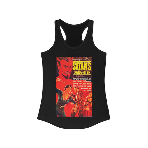 Satan's Daughter Women's Ideal Racerback Tank - lefthandcraft