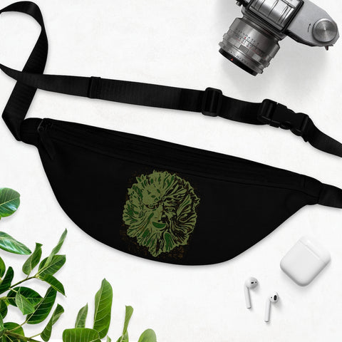 Green Man Fanny Pack