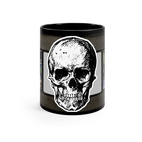 VHS Skull mug 11oz - lefthandcraft