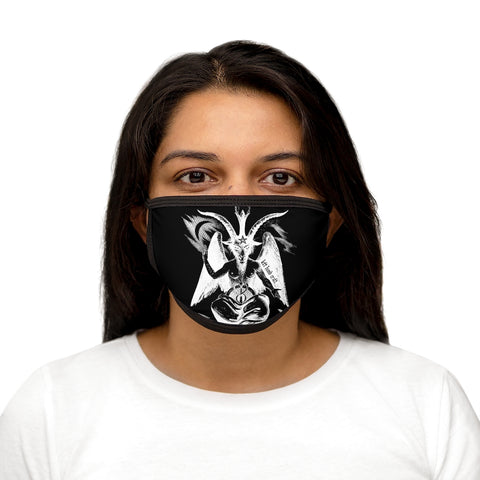 Baphomet Negative Face Mask
