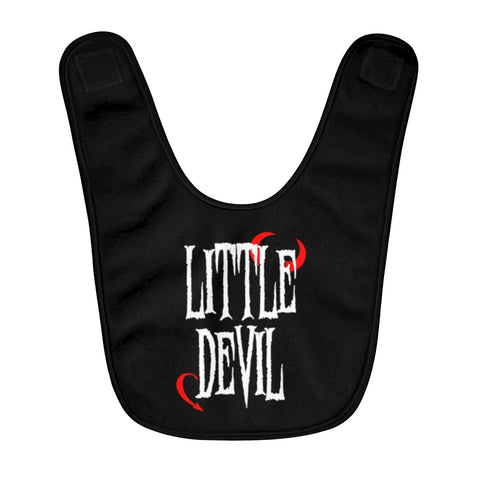 Little Devil - Fleece Baby Bib