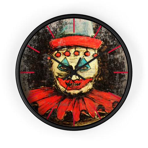 John Wayne Gacy Pogo the Clown Wall Clock