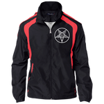 Sigil of Baphomet Embroidered Jersey-Lined Jacket