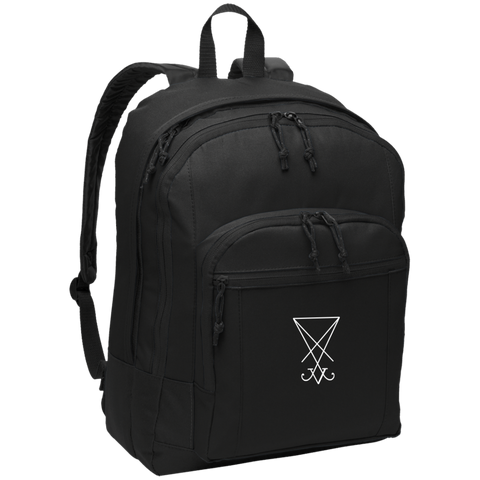 Sigil of Lucifer Embroidered Basic Backpack