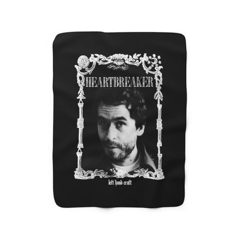 Ted Bundy Heartbreaker - Sherpa Fleece Blanket