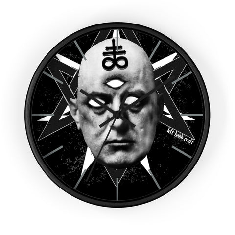 Aleister Crowley Wall Clock