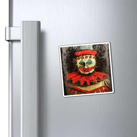John Wayne Gacy Pogo the Clown - Fridge Magnets