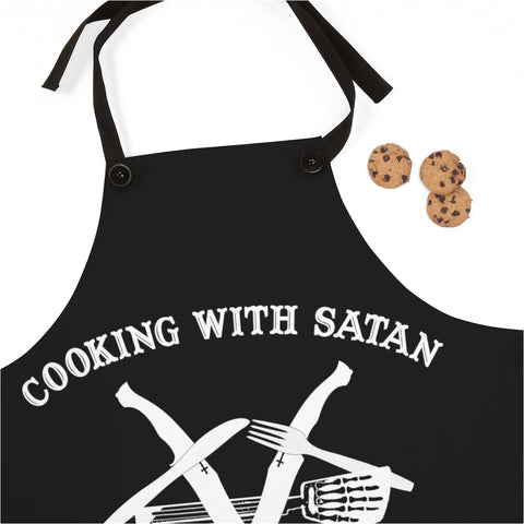 Cooking With Satan Apron