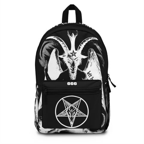 Baphomet Backpack (Made in USA) - lefthandcraft