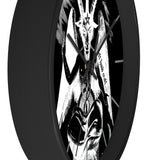 Baphomet Negative Wall Clock