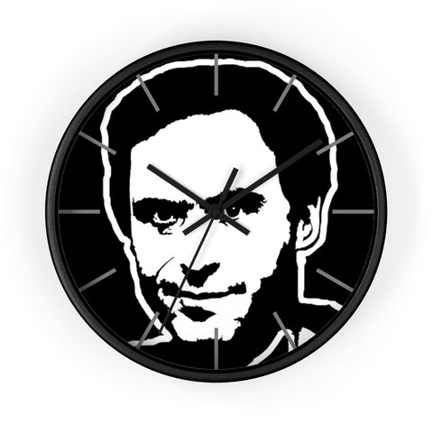 Ted Bundy Wall Clock