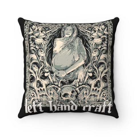 Demon Seed - Spun Polyester Square Pillow Case