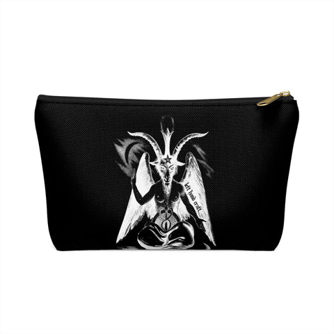 Baphomet Accessory Pouch w T-bottom - lefthandcraft