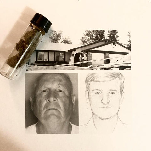 Golden State Killer - Joseph James DeAngelo dirt sample with COA