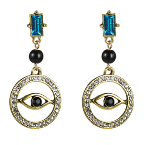 Anubis Earrings