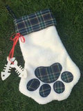 Paw Print Stockings