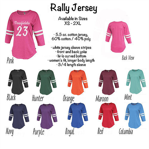Adult Rally Jersey