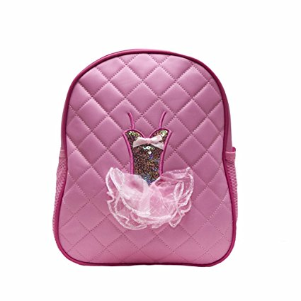 Quilted Ballerina Backpack