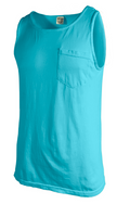 Adult Unisex Comfort Colors Pocket Tank Tops