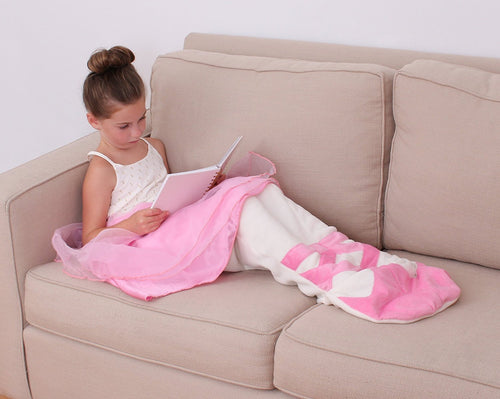 Ballerina Cuddle Blanket Sleeping Bag