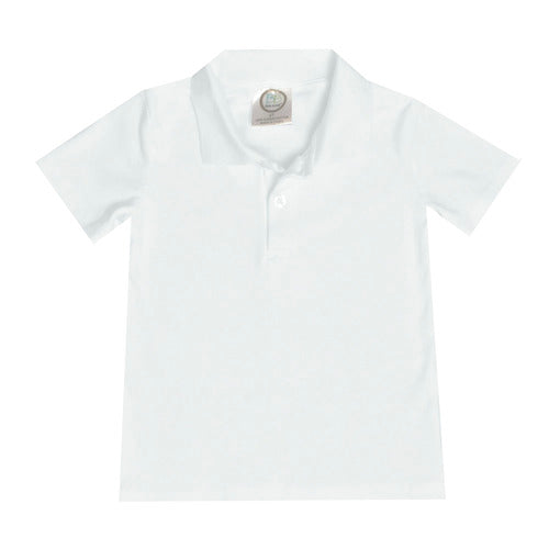 Collared Short Sleeve Polo Shirt