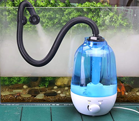 Coospider Reptile Humidifier Fog Machine Mister
