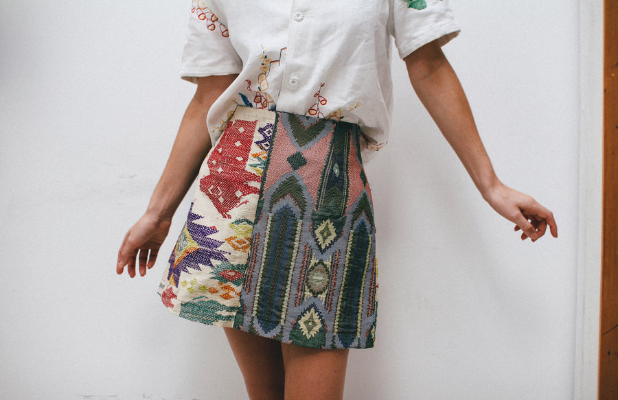 Hill Ikat Skirt