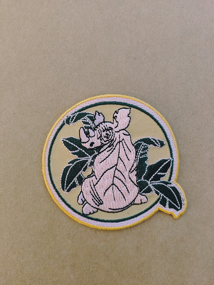 RHINO PROTECTION EMBROIDERED PATCH