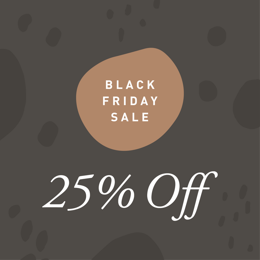 25% Off Black Friday Sale