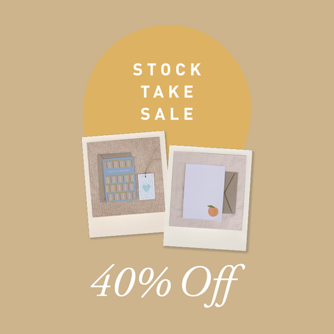 40% Off Stocktake Sale