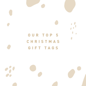 Our Top 5 Christmas Gift Tags