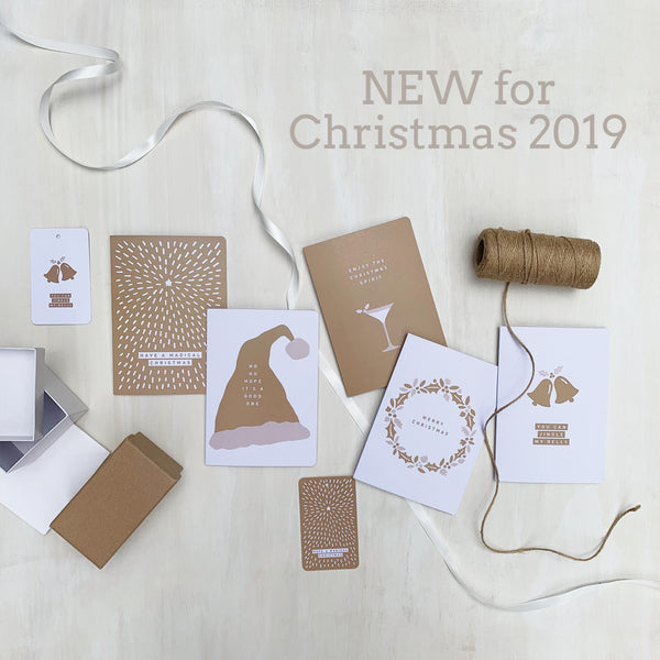NEW Christmas Card & Gift Tag Collection 2019