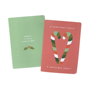 'Merry Little Christmas Treat' Greeting Card Set of 10 Christmas Cards