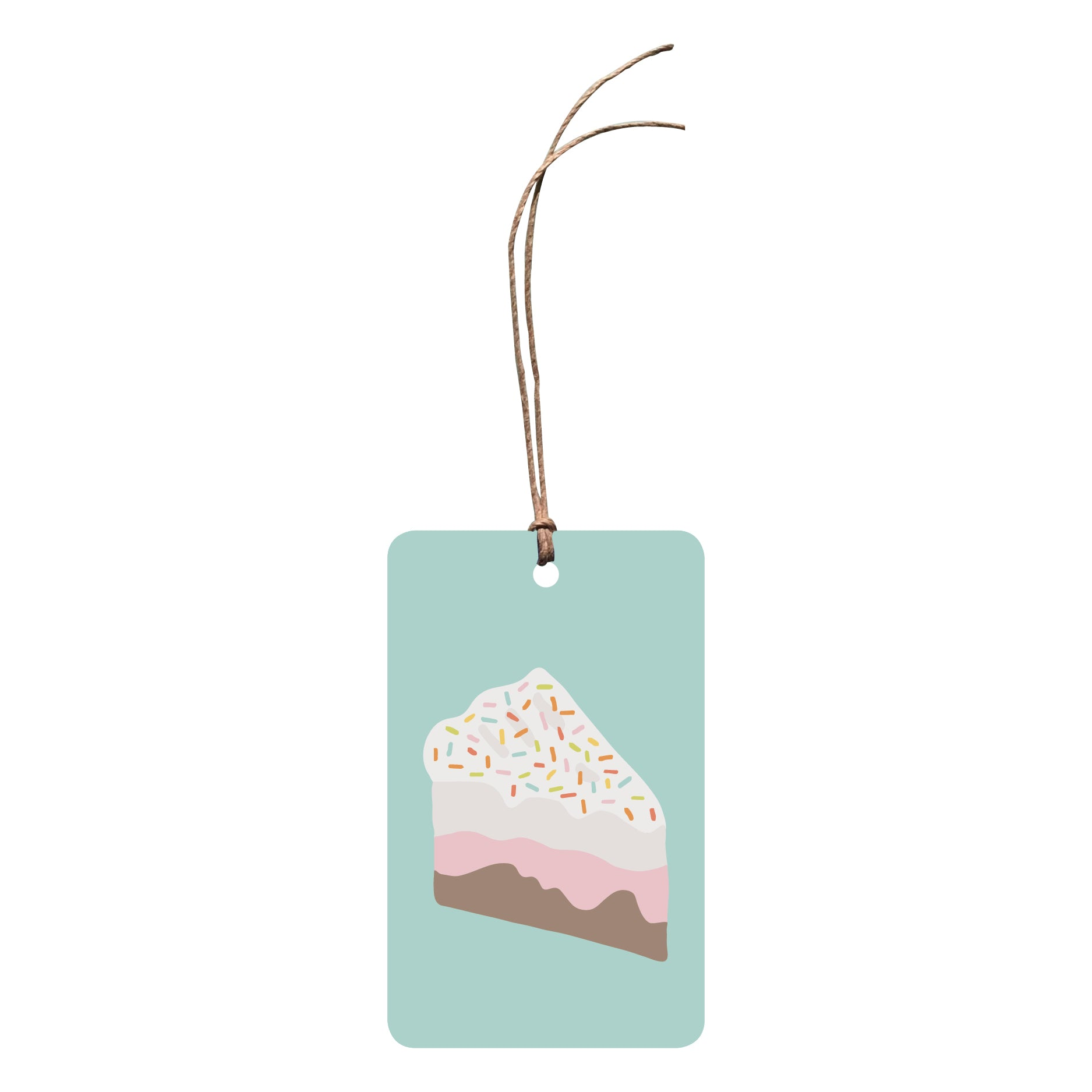 'Ice Cream Cake' Gift Tag