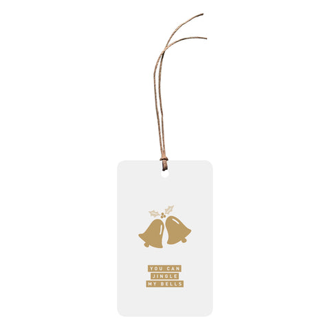 'You Can Jingle My Bells' Christmas Gift Tag