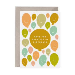 'Have the Happiest of Birthdays' Birthday Card
