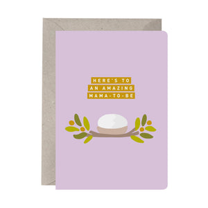 'Mama-to-be' Greeting Card