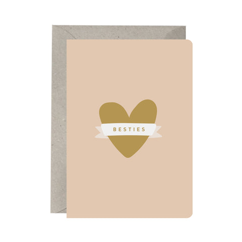 'Besties' Greeting Card