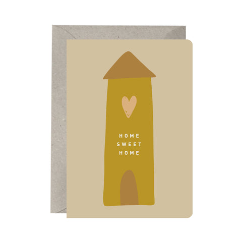 'Home Sweet Home' Greeting Card