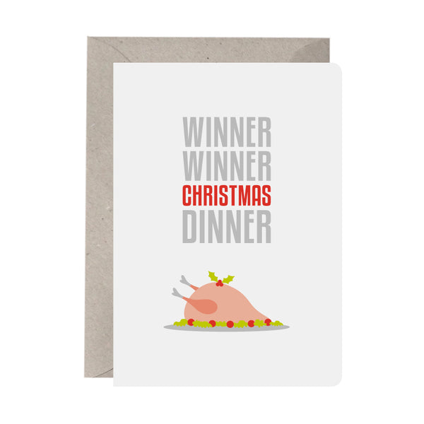 'Winner Peace Wreath' Greeting Card Set of 10 Christmas Cards