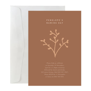 'Bloom' Invitation