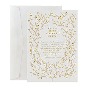 'Blossom' Invitation