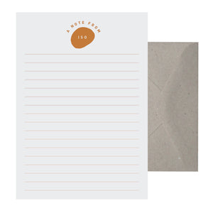 'A Note From Iso' Writing Set