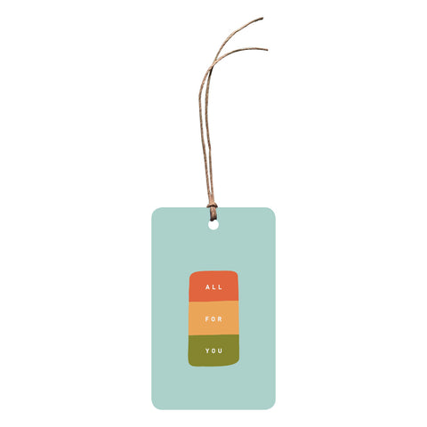 'All For You' Gift Tag
