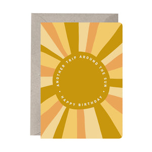 'Another Trip Around the Sun' Birthday Card