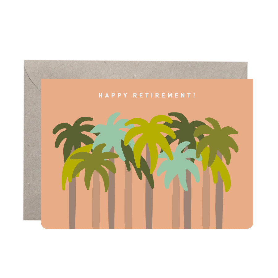 'Happy Retirement' Greeting Card