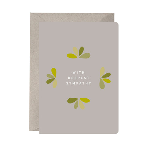 'With Deepest Sympathy' Sympathy Card