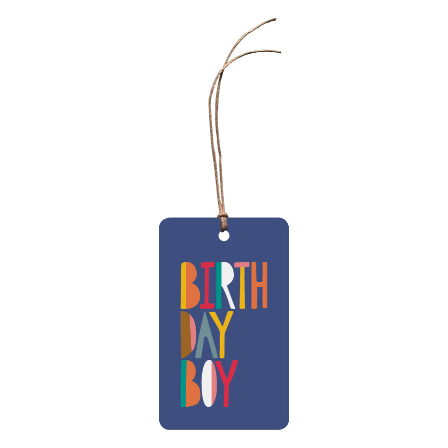 'Birthday Boy' Gift Tag