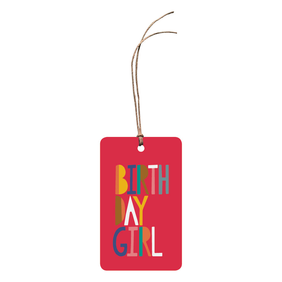 'Birthday Girl' Gift Tag
